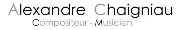 Alexandre Chaigniau Logo